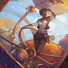 Planetary Alignment by Julie Dillon