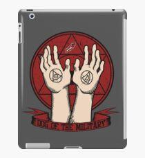 Dog of the Military: Crimson iPad Case/Skin