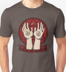 Dog of the Military: Crimson Unisex T-Shirt