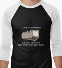 I are Programmer  Men's Baseball ¾ T-Shirt