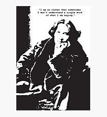 Oscar Wilde Photographic Print