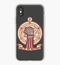 Dog of the Military: Full Metal iPhone Case