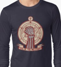 Dog of the Military: Full Metal Long Sleeve T-Shirt