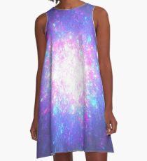 Active Galactic Fireworks | Fractal Art by Douglas James A-Line Dress