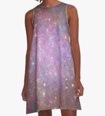 Rosette's Fireworks | Fractal Art by Douglas James A-Line Dress