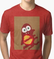 D'après Homer - Martin Boisvert - Face à flaques T-shirt chiné