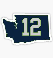 Seattle 12 - Seattle, Washington Sticker