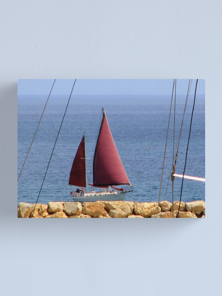 Alternate view of Land Ahoy! Canvas Print