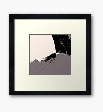 Organic No.14 Abstract #muted #redbubble #artprints #fineart #decor Framed Print