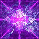 Infinite Flowers of the Purple Gods   Fractal Art by Douglas James by SirDouglasFresh