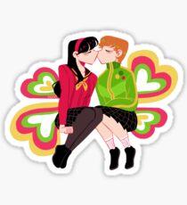 Smoochin' Sticker