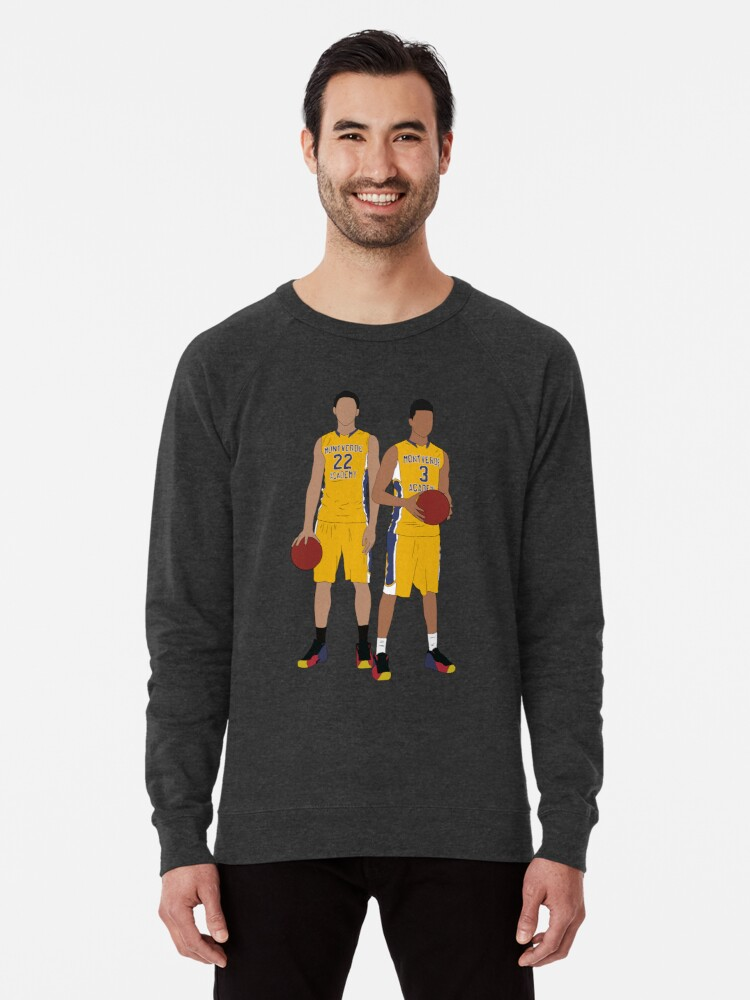 official photos dff31 4da61 'Ben Simmons And D'Angelo Russell In High School' Lightweight Sweatshirt by  RatTrapTees