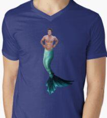 Mercage Men's V-Neck T-Shirt