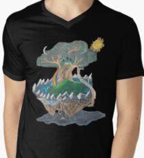 Yggdrasil Men's V-Neck T-Shirt