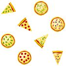Pizza Pattern by pda1986