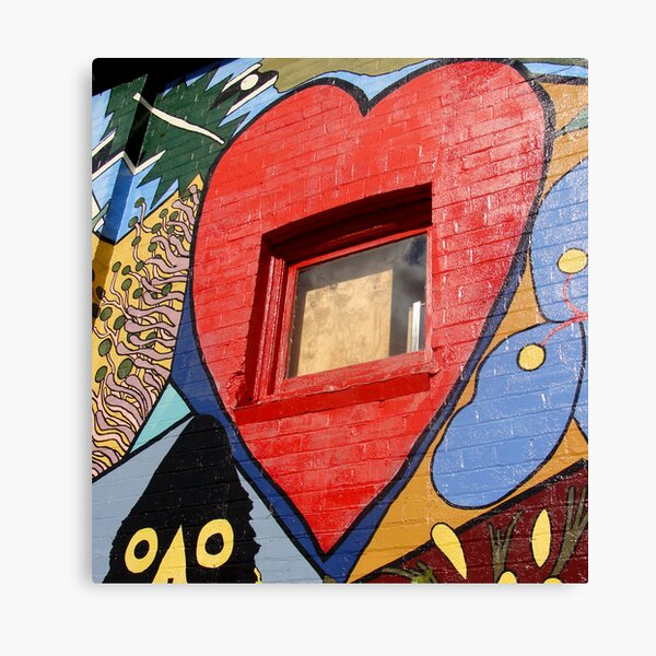 Glimpse into the Heart Canvas Print
