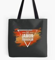 Jamon Paradigm Condensed Logo Tote Bag