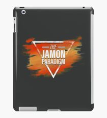 Jamon Paradigm Condensed Logo iPad Case/Skin