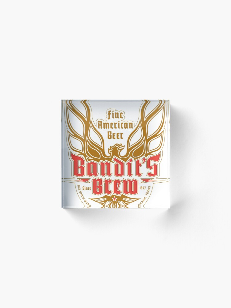 Alternate view of Bandit's Brew Acrylic Block