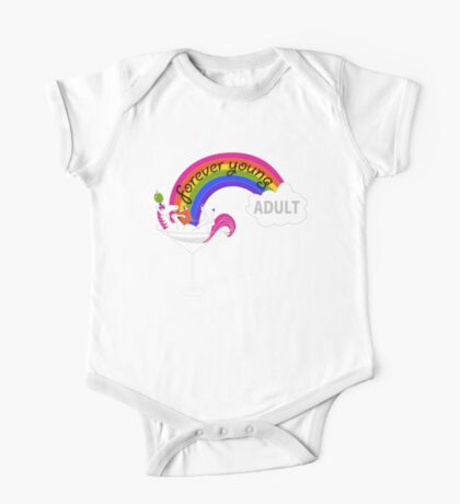Forever Young Adult Official Logo Kids Clothes