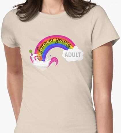 Forever Young Adult Official Logo T-Shirt