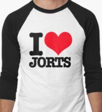I <3 Jorts Men's Baseball ¾ T-Shirt