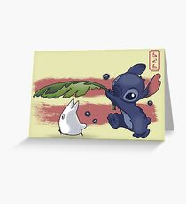 The Spirit of Ohana Greeting Card