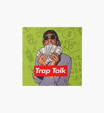 Rich The Kid Trap Talk Art Board