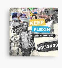Rich The Kid Canvas Print
