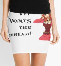 We Wants the Redhead Mini Skirt