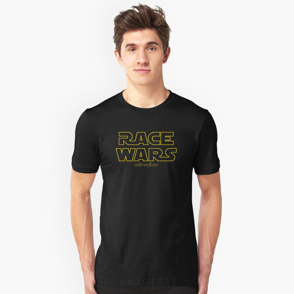 Shift Shirts Race Wars – Fast and Furious Inspired Unisex T-Shirt Front