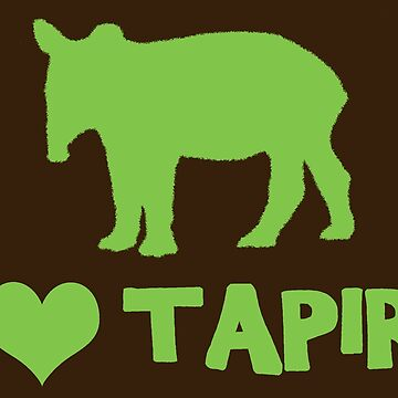 I Heart Tapirs! by DILLIGAF