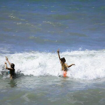 Waves of Fun by posyrosie