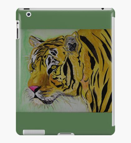 The Sad Tiger iPad Case/Skin