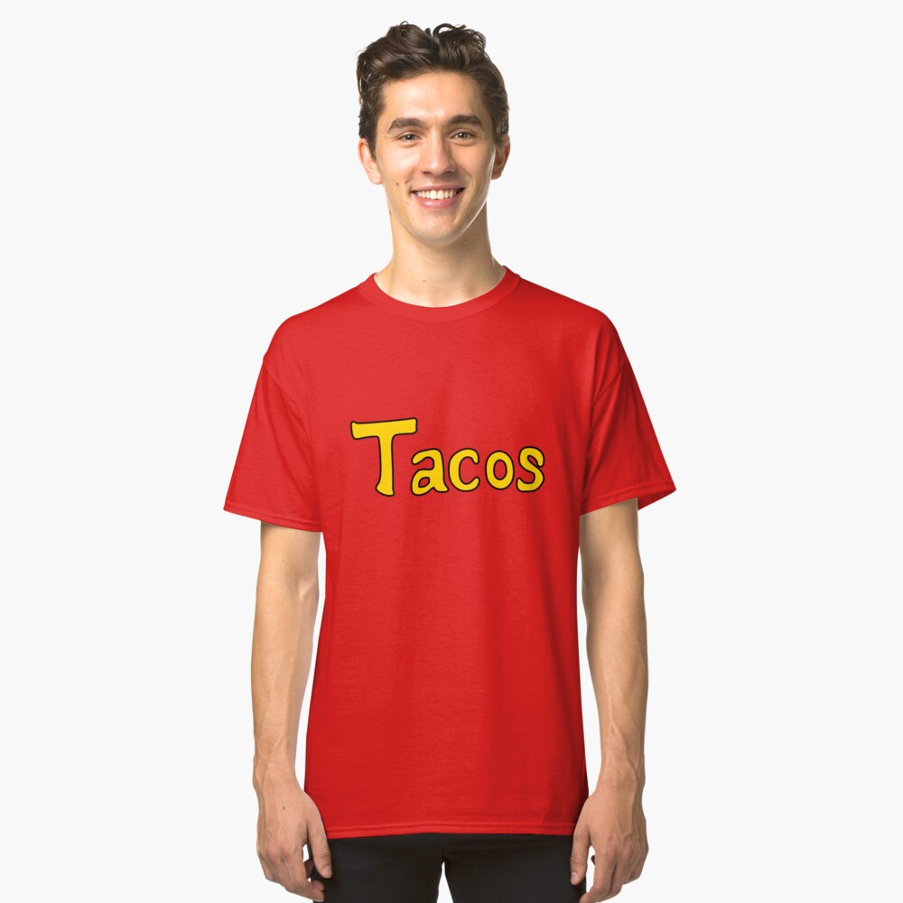 Tacos-Hemd Classic T-Shirt