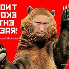 Don't Poke the Bear (Putin) by EyeMagined