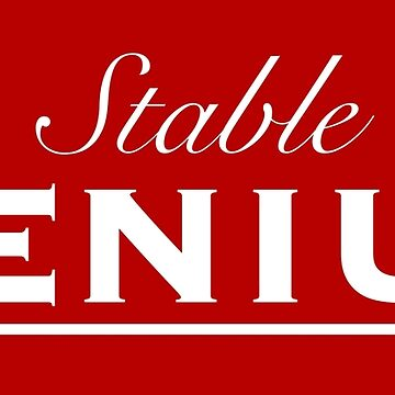 Stable Genius, White Font by deplorable-inc