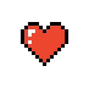 Pixel Love Heart by lostsheep007