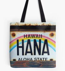 Hana Kennzeichen Tote Bag