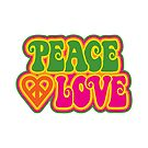 Peace and Love by Lisann