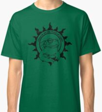 Church of the Toad of Light Psychedlic Frog Licking (Distressed) Classic T-Shirt