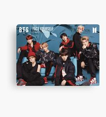 BTS Face Yourself Canvas Print