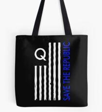 QAnon Save the Republic Tote Bag