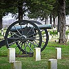Federal Guns Stone's River National Battlefield, Cemetary by Bob Moore
