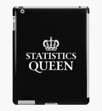 Statistics Queen iPad Case/Skin