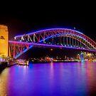 Vivid Bridge by Erik Schlogl