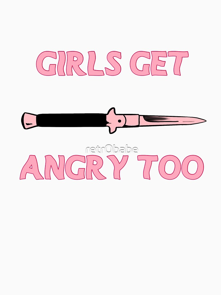 Girls Get Angry Too by retr0babe