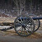 Union Artillery Devil' Den by Bob Moore