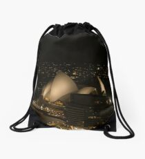 Sydney Opera House @ Night Drawstring Bag