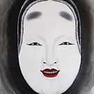 Ko-omote Mask by F.M. Gore-Kelly